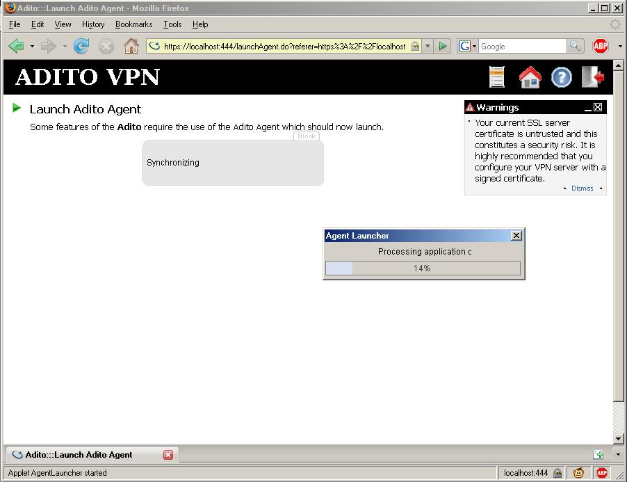 Adito (Now called OpenVPN ALS) � Lars Werner